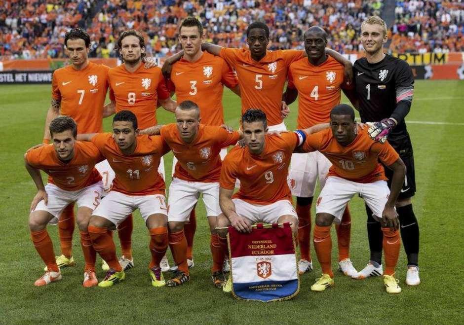 Conheça os 23 jogadores da Holanda d1ff4103e505d