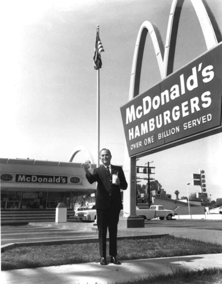 Richard McDonald Maurice McDonald e Ray Kroc