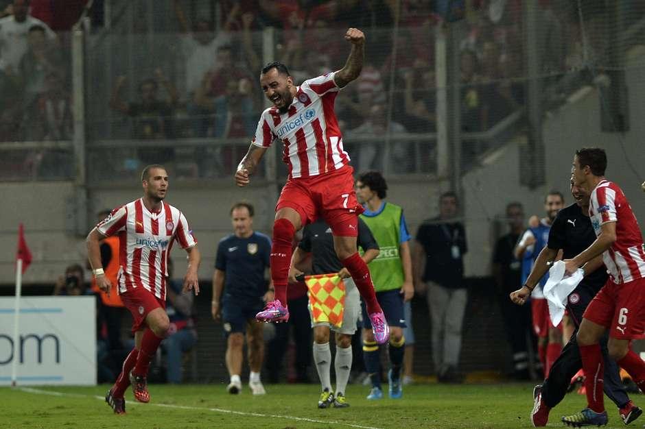 db990aa64c Liga dos Campeões  Olympiacos 3 x 2 Atlético  Juventus 2 x 0 Malmo