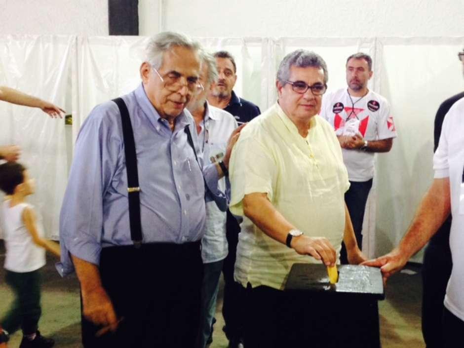 Eurico ganha apoio do presidente da Federação do RJ d13db713e07c7