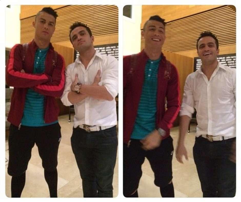 Ronaldo rihanna cristiano