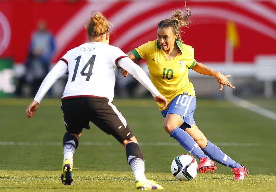 Copa do Mundo feminina  Alemanha vence Brasil por 4 a 0 em amistoso fc519b0e0a262