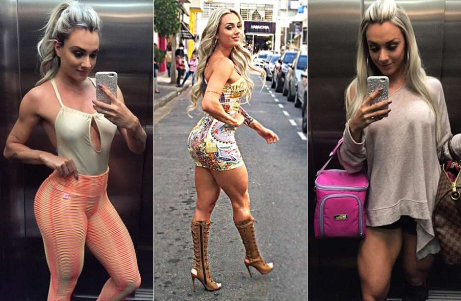 766fede6f Famosas ganham mais de R  100 mil com selfies por mês  veja