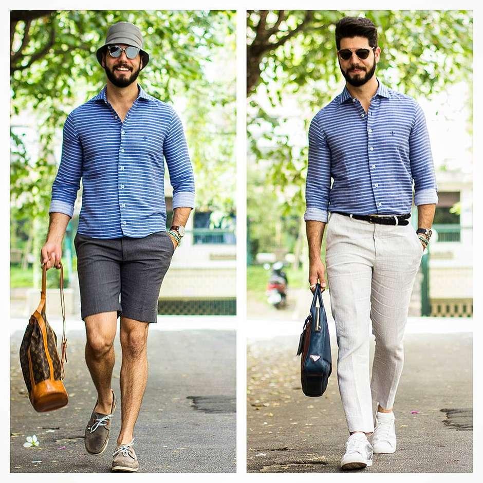 2dcf3284fa Como usar camisas sociais masculinas em diferentes ocasiões