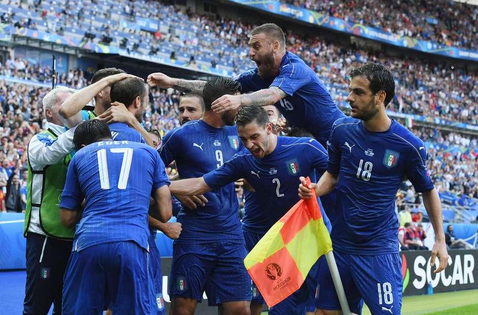 É gigante! Itália elimina a Espanha em reedição da final da última Euro d4444e00aa651