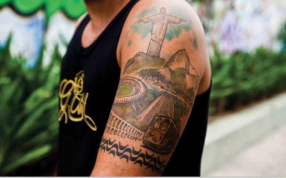 Maraca Fla Skate Surfe Tatuagens Cariocas Ilustram