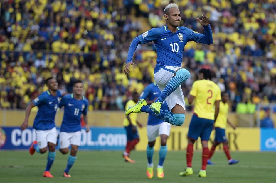 Eliminatórias  Equador 0 x 3 Brasil 9c1db98fba24e