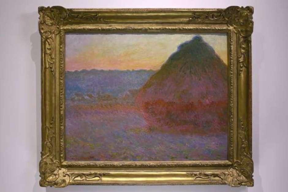 Resultado de imagem para Obra de Monet é arrematada por valor recorde de US$ 81,4 mi