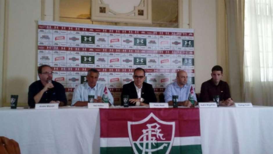 6e62b7acb80 Fluminense oficializa acordo com a Under Armour por três temporadas