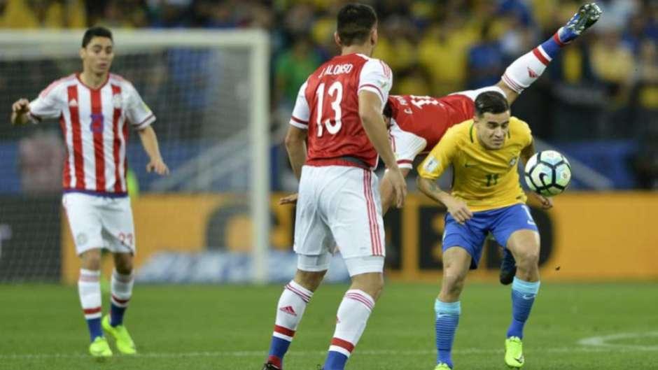 Brasil x Paraguai tem segunda maior renda da história do futebol brasileiro e5340e18016c0