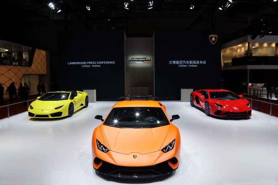 Lamborghini presente en Shanghai 2017 para Asia