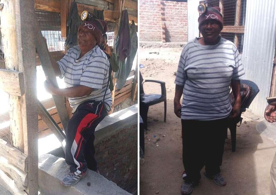 Vestida com roupas largas, Pili enganou mineiros por quase dez anos