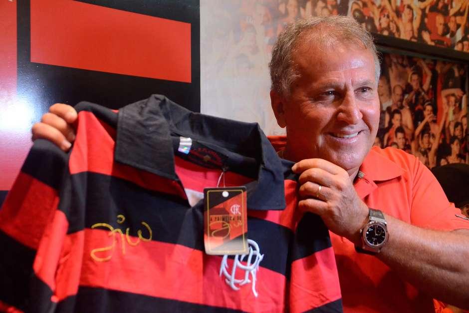 5535a5e1f5 Zico lamenta eliminação do Flamengo e dispara