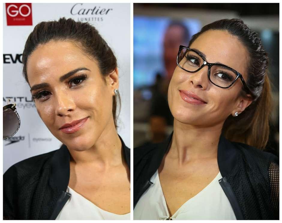 428fc97028d74 Inspire-se no look e no make com óculos de Wanessa Camargo