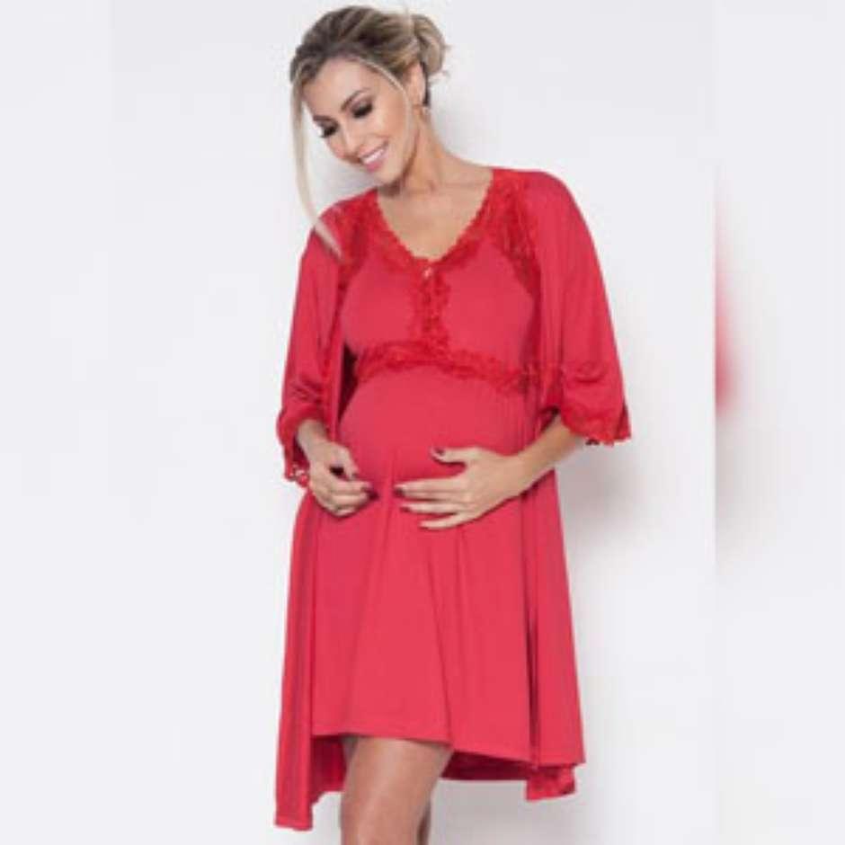 aa5614b15 Camisola para maternidade ou pijama  Qual levar para o hospital
