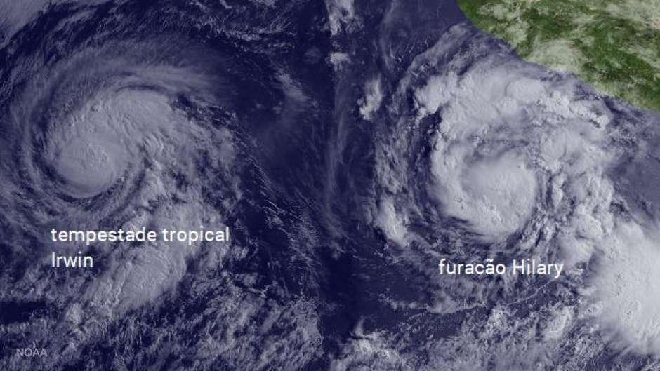 Oceano Pacífico Está Muito Agitado