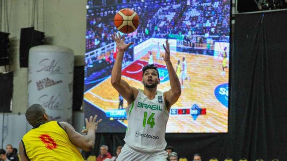 Seleção Brasileira estreia na Copa América de basquete cdb4a63bf1e7c
