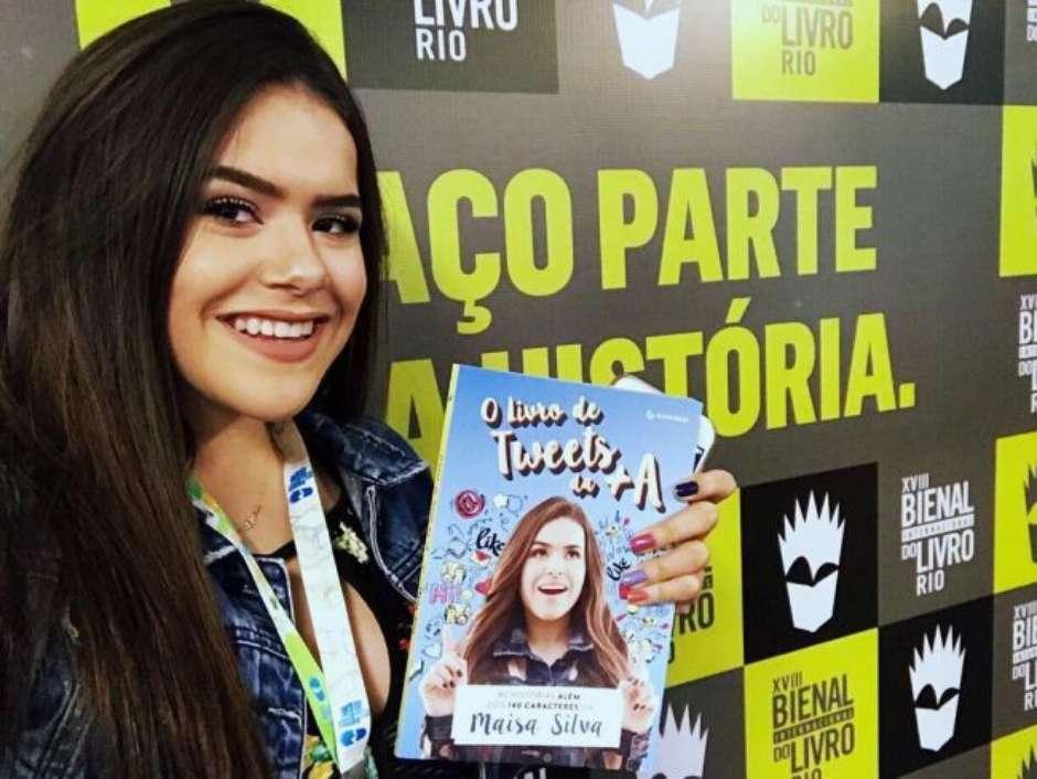 89026a0a46b57 Maisa Silva lança seu novo livro,
