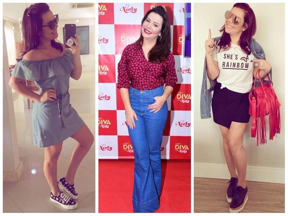 db906e35f2 Estilosa  Inspire-se em 3 looks casuais de Fernanda Souza