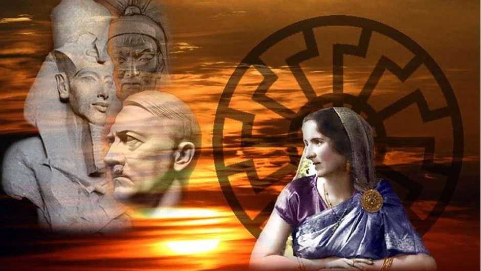 """A relação entre a mística fascista que admirava Hitler Savitri Devi, com a extrema direita hoje e a mítica """"era dourada"""""""