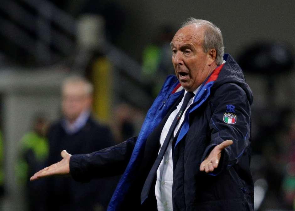 bf86da2fab Técnico Ventura deixa seleção italiana após fracasso em classificação para  Mundial