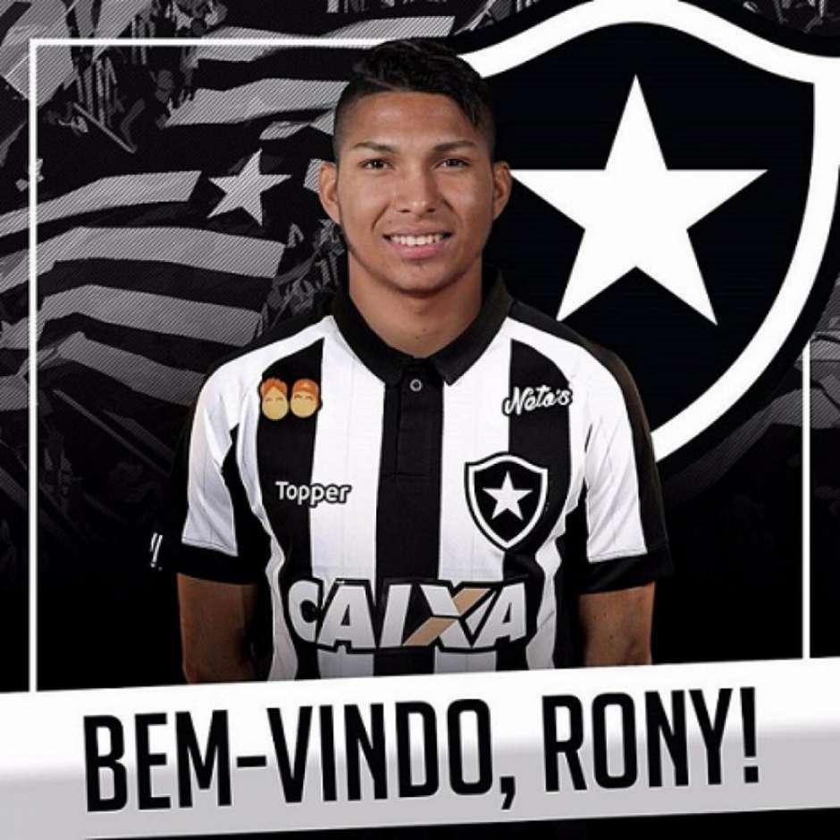 Botafogo anuncia a contratação de Rony b07ac98dccb62