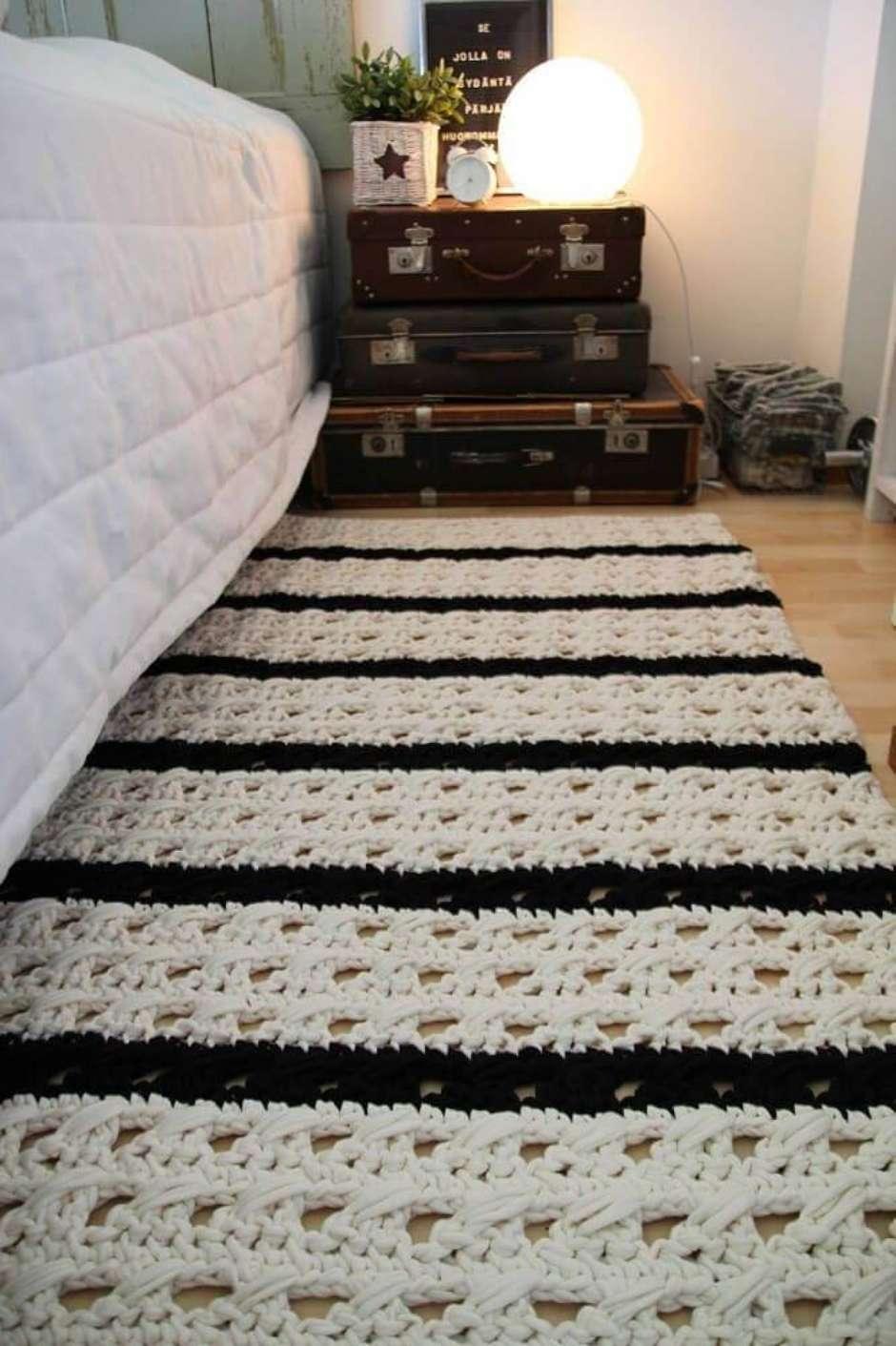 Tapete De Croch Quadrado Dicas E Modelos Para Deixar A Sua Casa  -> Tapete Croche Grande