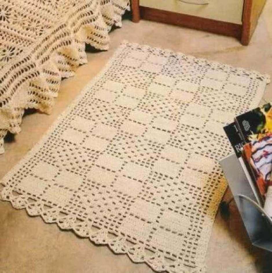 Tapete De Croch Quadrado Dicas E Modelos Para Deixar A Sua Casa  -> Fotos De Tapete De Croche