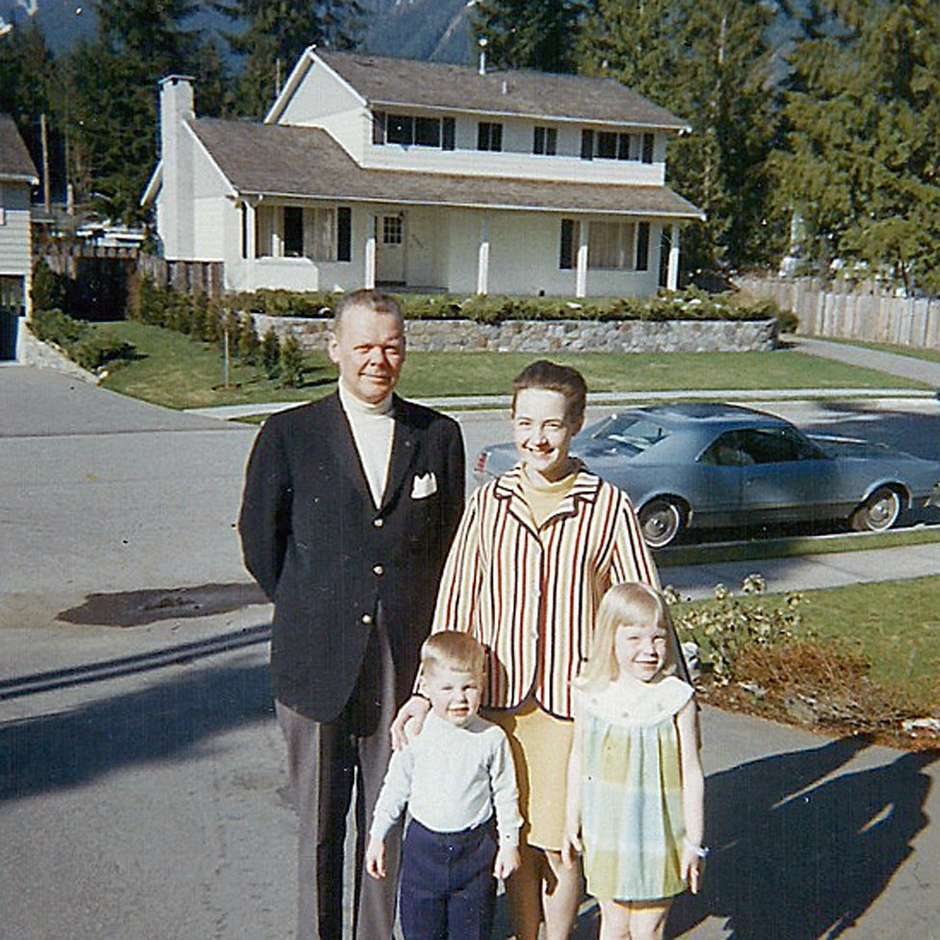 Familia antes das viagens