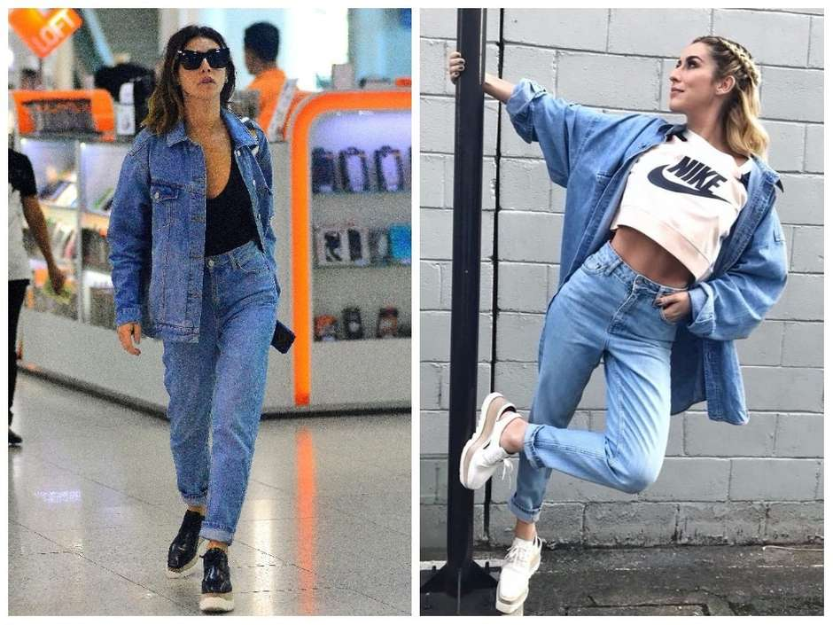 Famosas ensinam 5 maneiras estilosas de usar  mom jeans  7742ccc0eaa