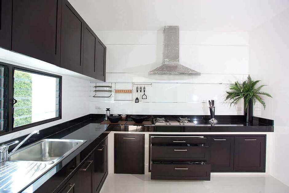 Cozinha Preta Veja Dicas E Aprenda Como Decorar A Sua Cozinha Preta
