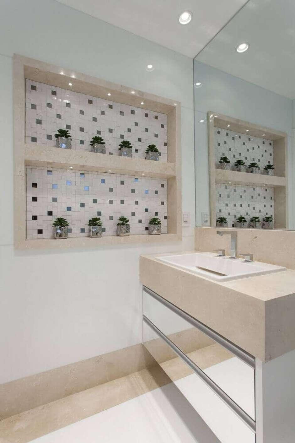 Quer Organizar O Banheiro Veja Dicas De Nichos E Decoração
