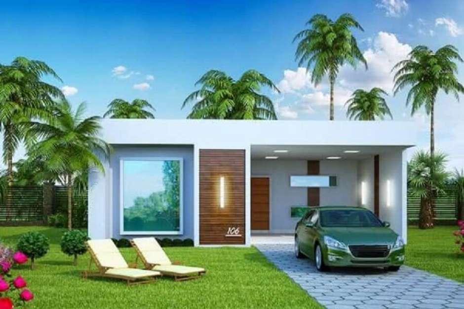 50 Modelos De Frente De Casas Para Inspirar O Seu Projeto