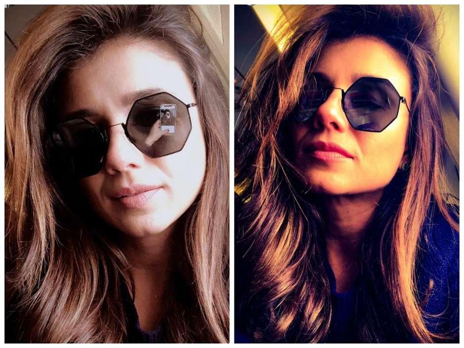 Juliana Paes e Paula Fernandes apostam em óculos geométricos 0a8859ecaa