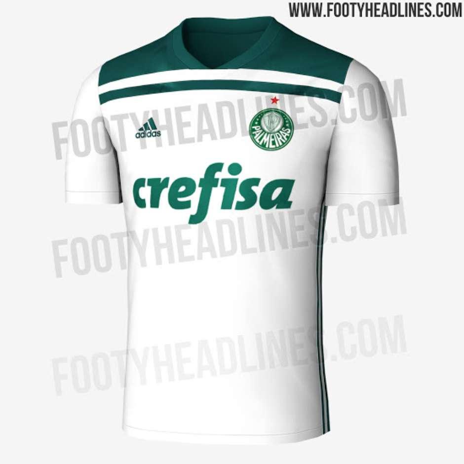 9fd799b08e Suposto novo segundo uniforme do Palmeiras vaza na internet