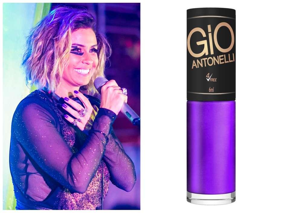 a0938d441 Segundo Sol  Giovanna Antonelli usa esmalte roxo de R  4
