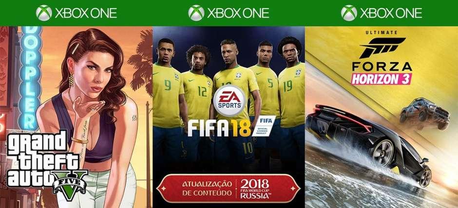 SÓ 1 REAL  aproveite a Xbox Live Gold e o Game Pass, fora descontos em 300  games b0348e2949