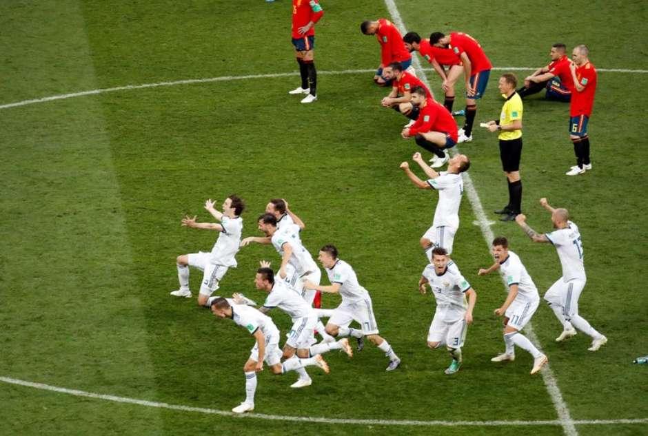Rússia vence Espanha nos pênaltis e vai às quartas de final da Copa do Mundo 750296e0dc33c