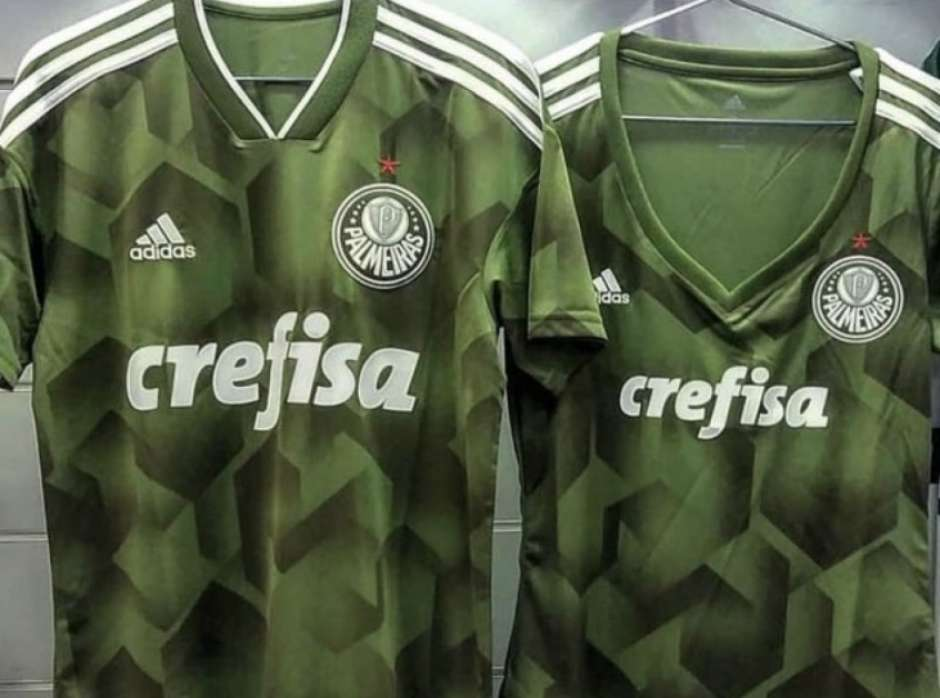 Novo verde  veja foto do uniforme de despedida da Adidas no Palmeiras 6e68f93c96ced