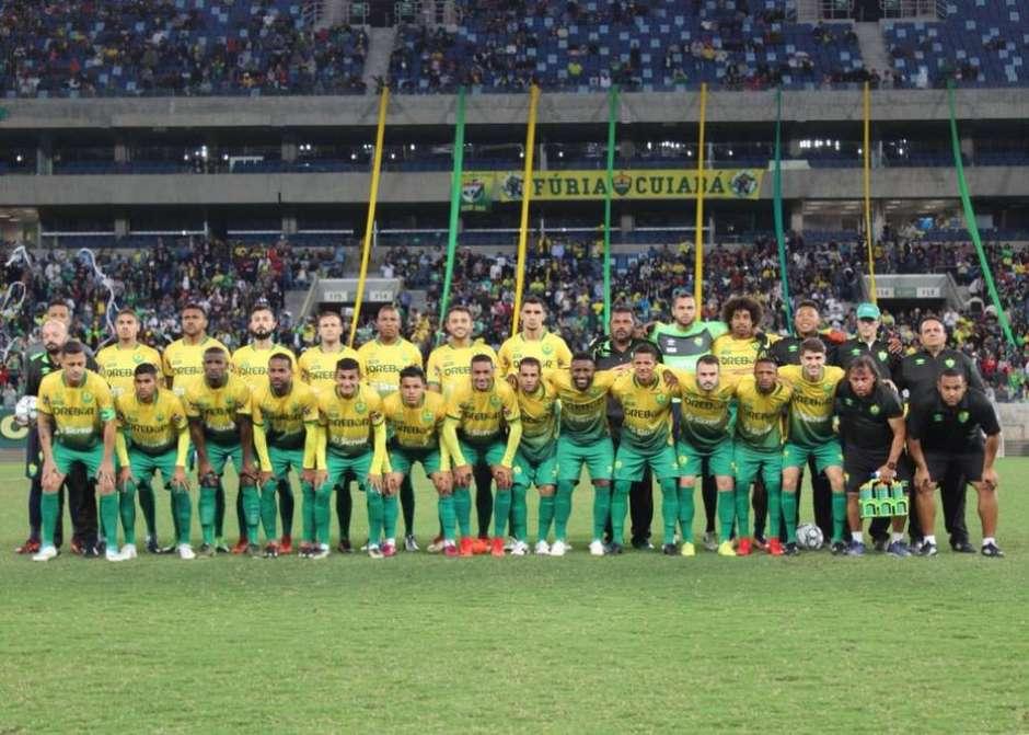b7d0ea63cd Cuiabá empata com Atlético-AC
