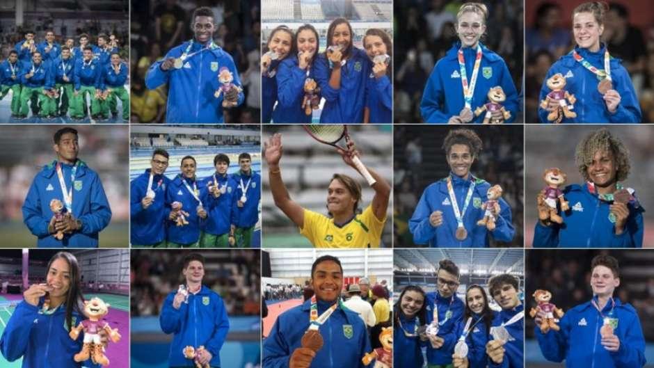 Brasil iguala em Buenos Aires 2018 o total de medalhas de Nanquim 2014 63266a0d6f8ae