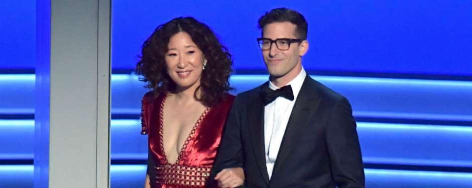 Globo De Ouro 2019 Sandra Oh E Andy Samberg Vão Apresentar