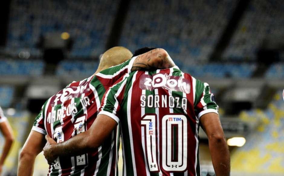 7806791fbce4a Fluminense divulga numeração para 2019  camisa 10 continua vaga