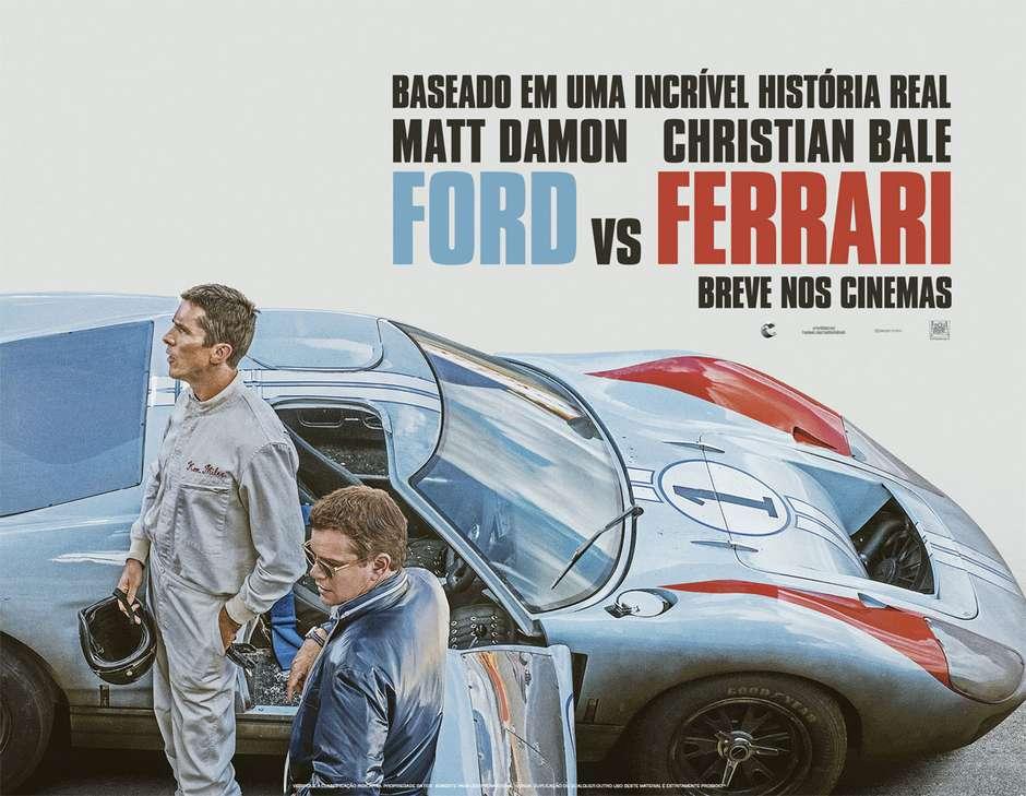 Resultado de imagem para Ford vs Ferrari