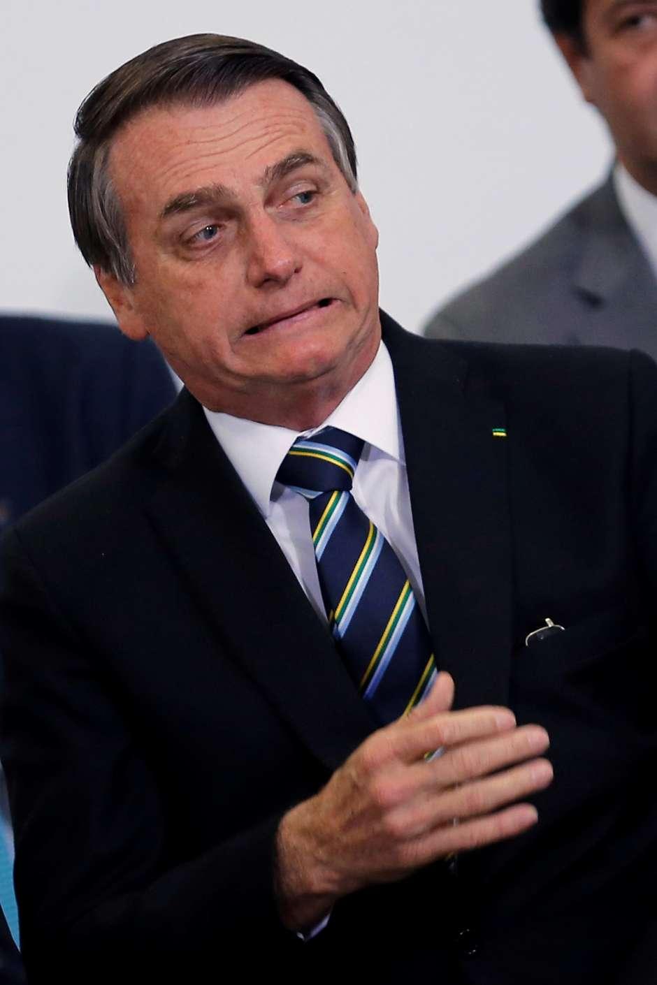 Falas de Bolsonaro causam preocupação no Planalto
