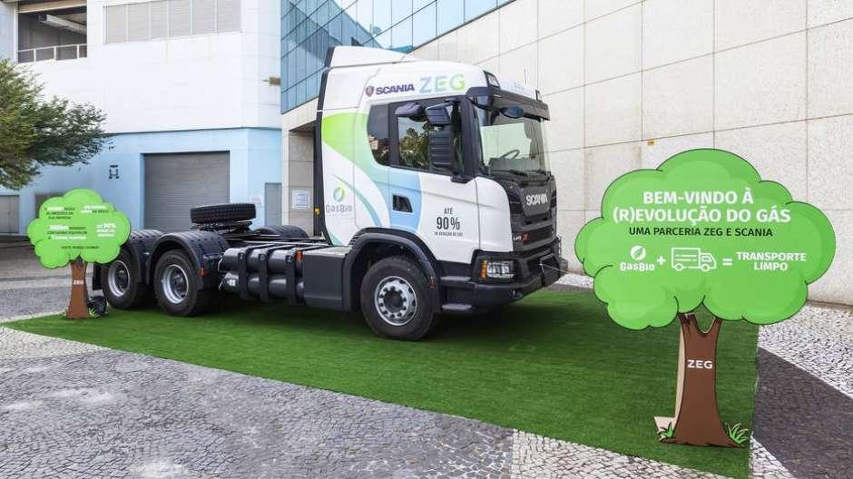 Resultado de imagem para Scania vai começar a produzir caminhões movidos a biometano
