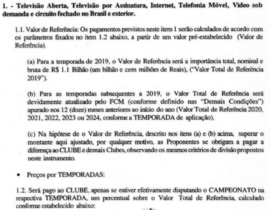 Especial Lance Confira Os Detalhes Do Atual Contrato Do Flamengo Com A Globo Pelo Direitos Do Brasileirao