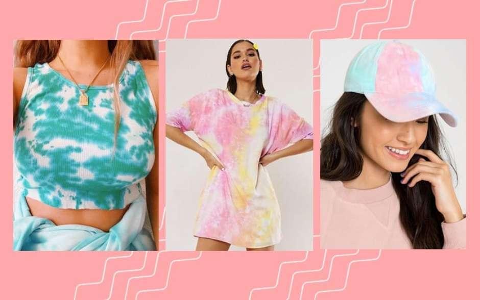 Aprenda a fazer tie dye e saiba como utilizar a estampa nos looks