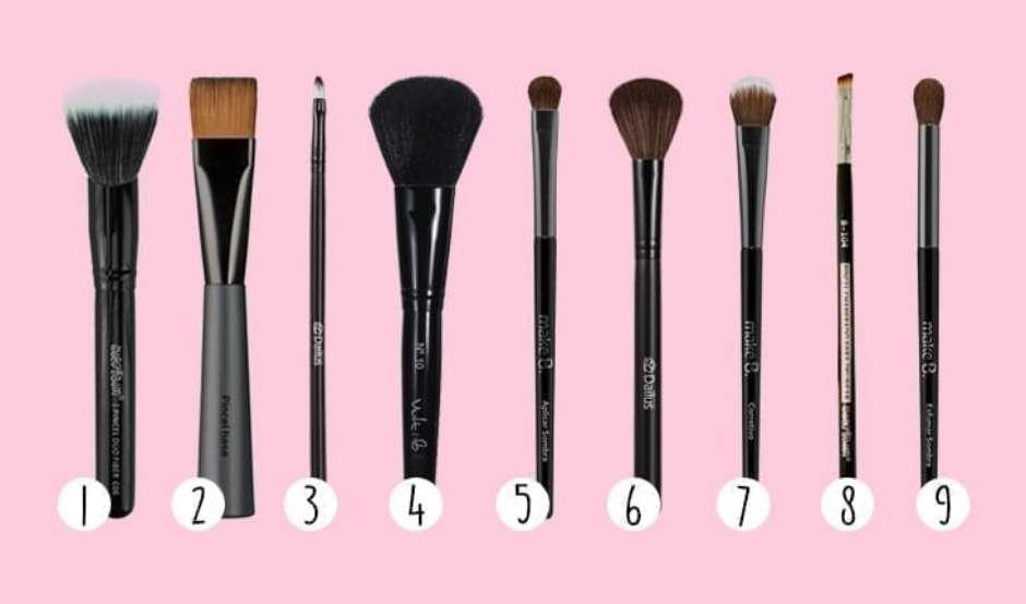 Guia de pincéis de maquiagem: aprenda a usar cada um deles