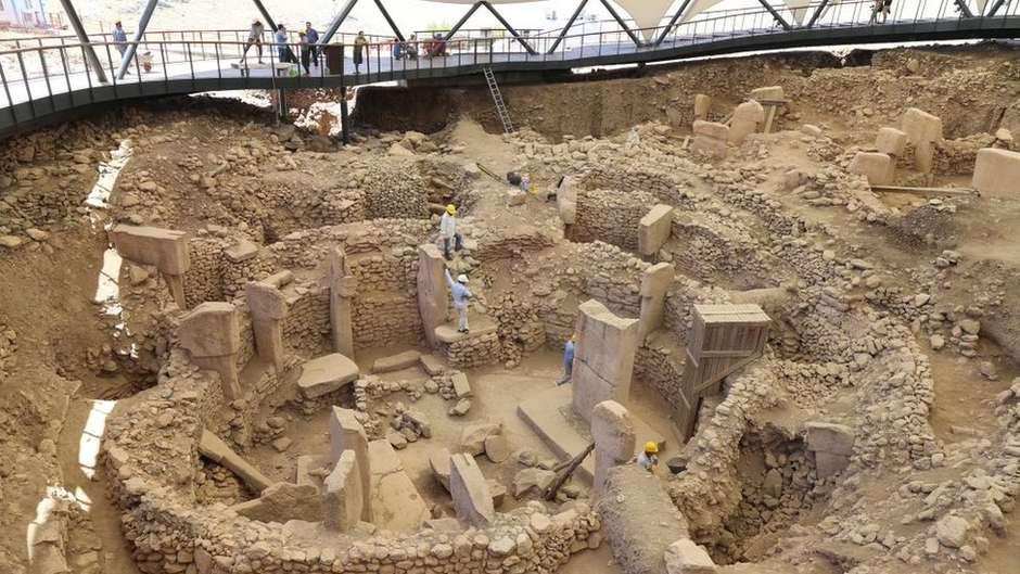 Göbekli Tepe foi construído antes da pirâmides do Egito